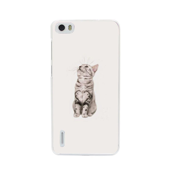 Etui na telefon Cute Little Tiger Cat HUAWEI Ascend P7