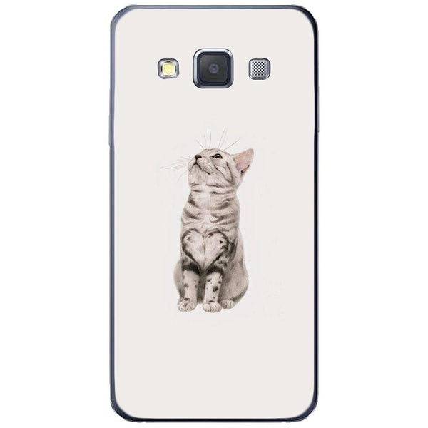 Etui na telefon Cute Little Tiger Cat SAMSUNG Galaxy A3