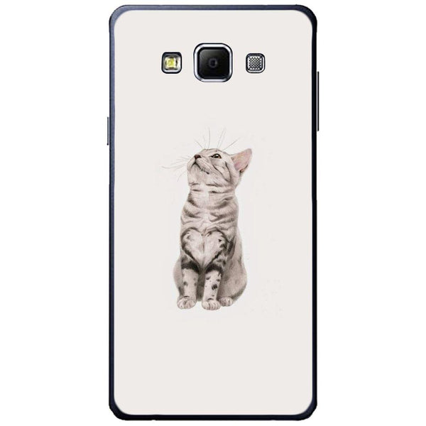Etui na telefon Cute Little Tiger Cat SAMSUNG Galaxy A7