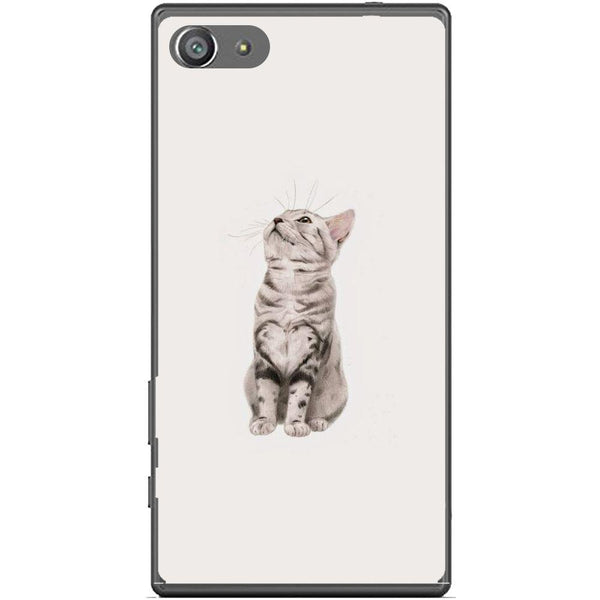 Etui na telefon Cute Little Tiger Cat Sony Xperia Z5 Compact