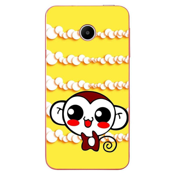 Etui na telefon Cute Monkey Amine Yellow HUAWEI Ascend Y330