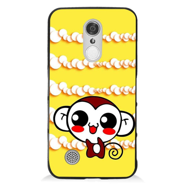 Etui na telefon Cute Monkey Amine Yellow LG K8 2017