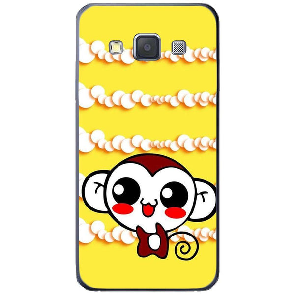 Etui na telefon Cute Monkey Amine Yellow SAMSUNG Galaxy A3