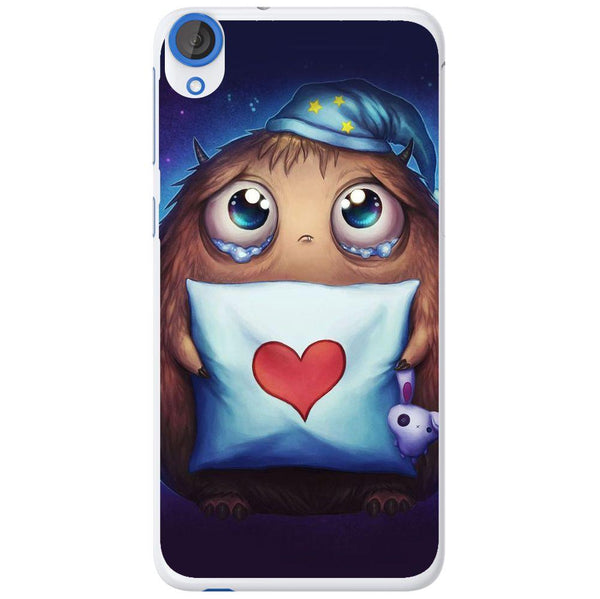 Etui na telefon Cute Sleepy Monster Anime HTC Desire 820
