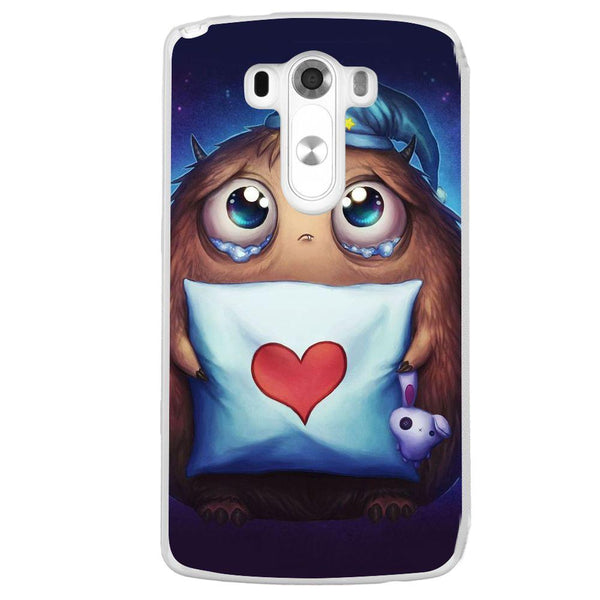 Etui na telefon Cute Sleepy Monster Anime LG G3