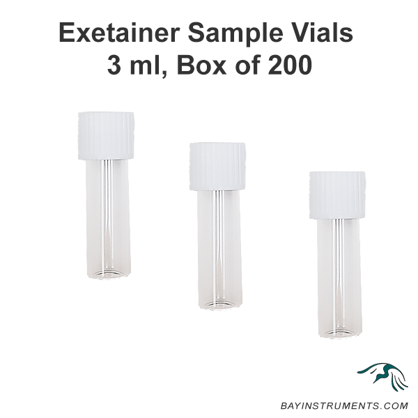 Labco Exetainer Sample Vials, MIMS and Accessories - Bay Instruments, LLC