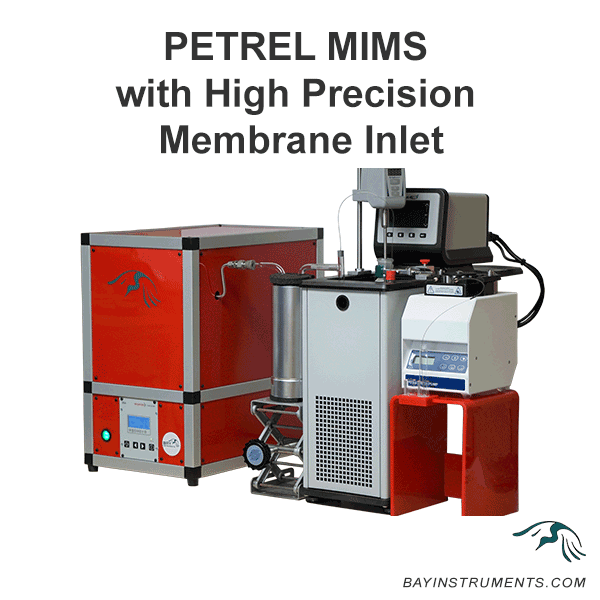 PETREL Membrane Inlet Mass Spectrometer, MIMS and Accessories - Bay Instruments, LLC