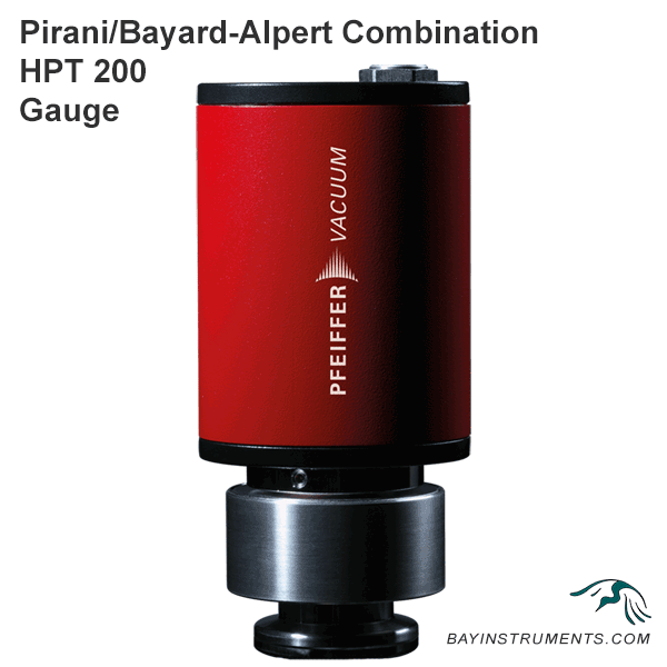 Pirani/Bayard-Alpert combination HPT 200, gauges - Bay Instruments, LLC