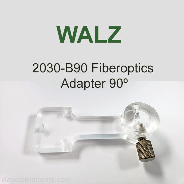 Walz 2030-B90 Fiberoptics Adapter 90º, Walz Fluorometers and Photosynthesis Equipment - Bay Instruments, LLC