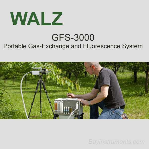 Walz GFS-3000 Portable Gas-Exchange and Fluorescence System, Walz Fluorometers and Photosynthesis Equipment - Bay Instruments, LLC