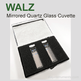 Walz Mirrored Glass Cuvettes US-K1 US-K2, Walz Fluorometers and Photosynthesis Equipment - Bay Instruments, LLC