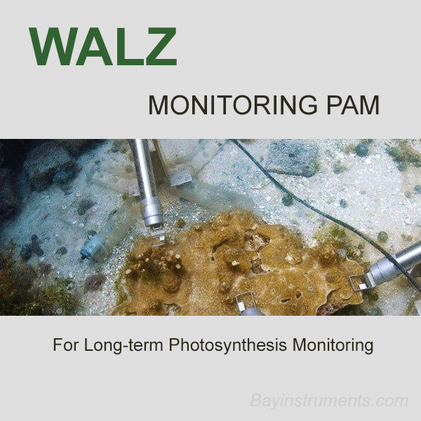 Walz MONITORING-PAM Fluorometer, Walz Fluorometers and Photosynthesis Equipment - Bay Instruments, LLC