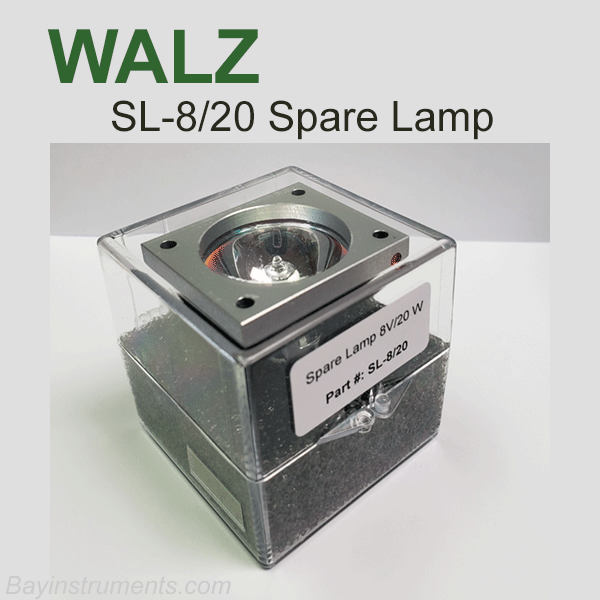 Walz SL-8/20 Spare Lamp, Walz Fluorometers and Photosynthesis Equipment - Bay Instruments, LLC