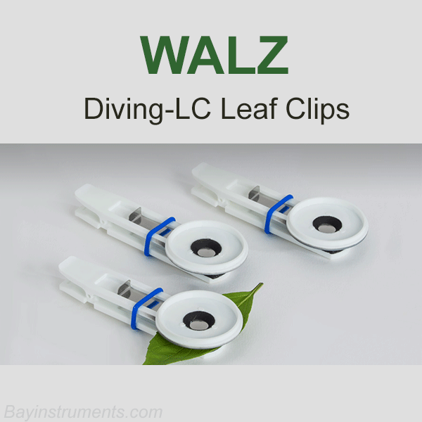 Walz DIVING-LC  Underwater Leaf Clips for DIVING-PAM, Walz Fluorometers and Photosynthesis Equipment - Bay Instruments, LLC