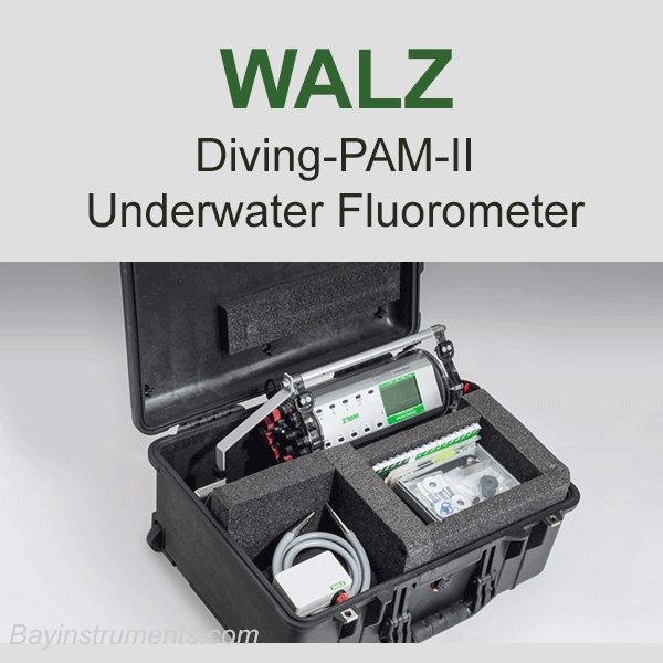 Walz DIVING-PAM-II, Walz Fluorometers and Photosynthesis Equipment - Bay Instruments, LLC