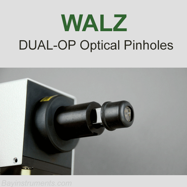 Walz DUAL-OP Set of Optical Pinholes, Walz Fluorometers and Photosynthesis Equipment - Bay Instruments, LLC