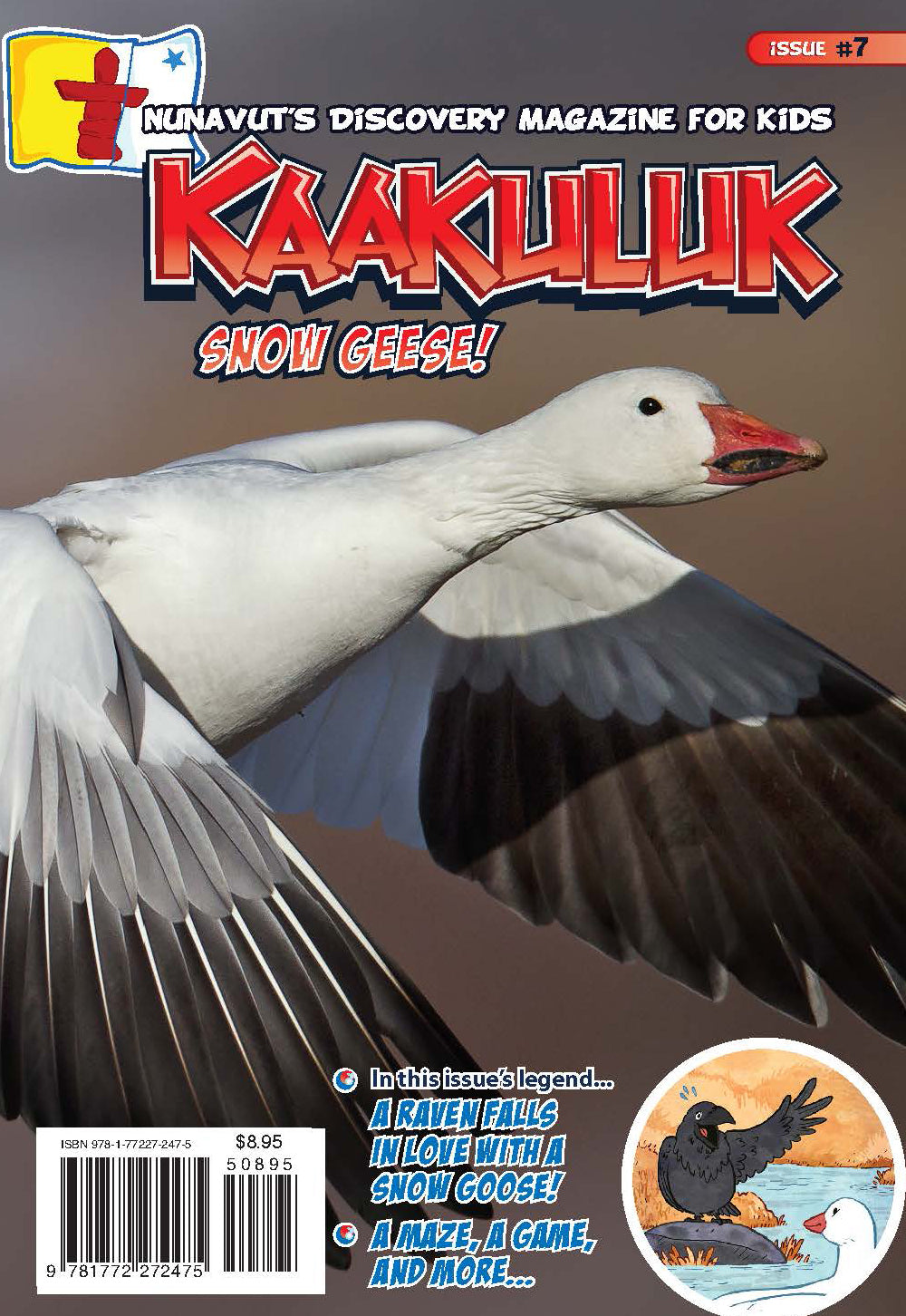 Kaakuluk: Nunavut's Discovery Magazine for Kids Issue #7