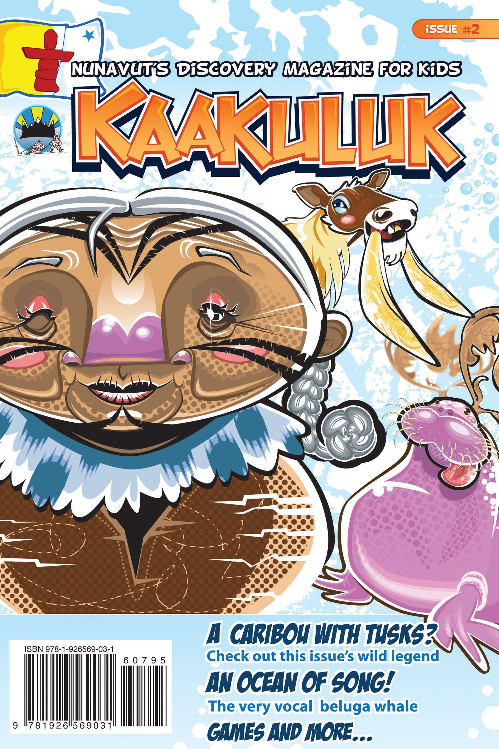 Kaakuluk: Nunavut's Discovery Magazine for Kids Issue #2