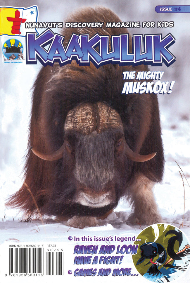 Kaakuluk: Nunavut's Discovery Magazine for Kids Issue #4