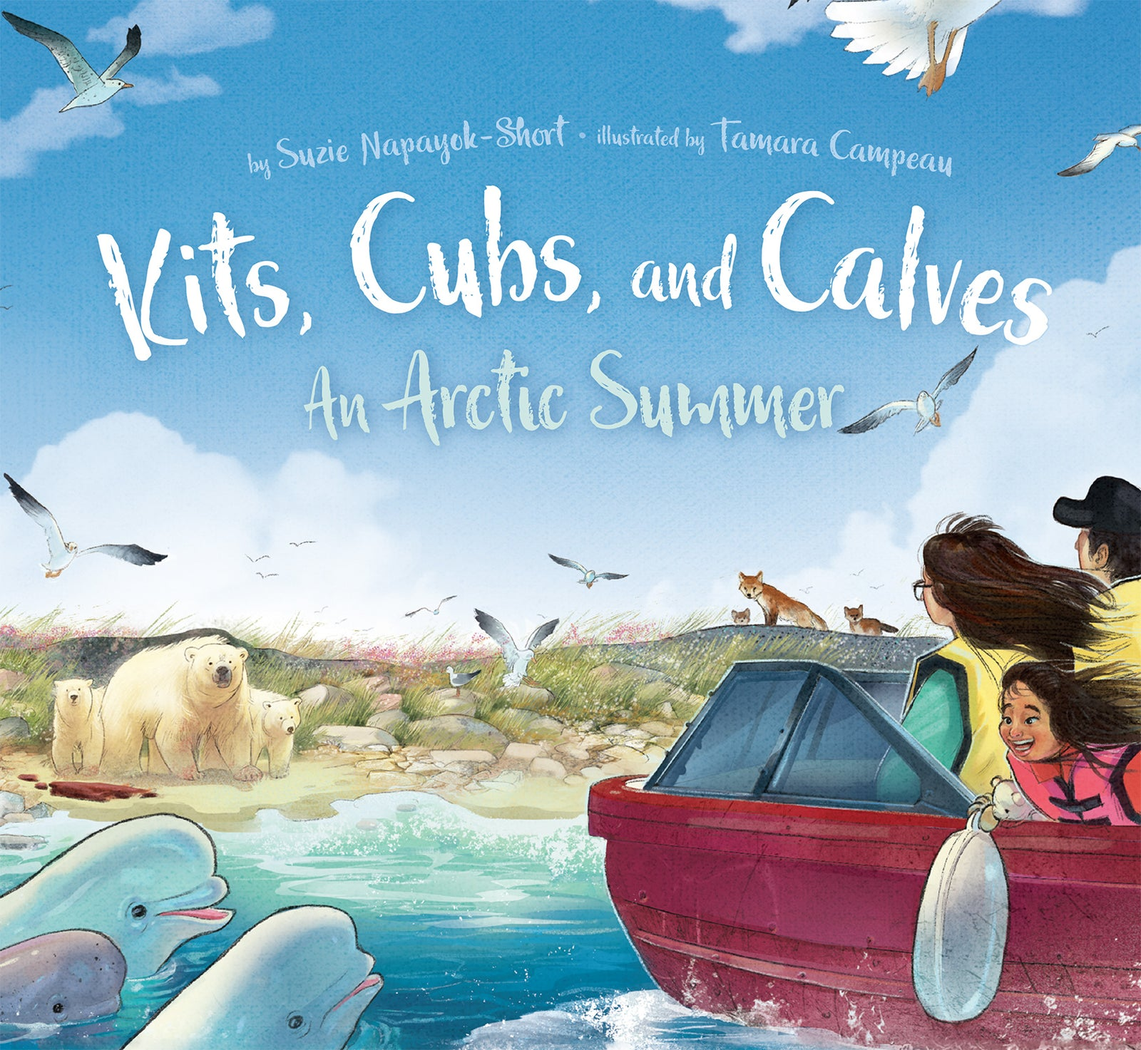 Kits, Cubs, and Calves: An Arctic Summer