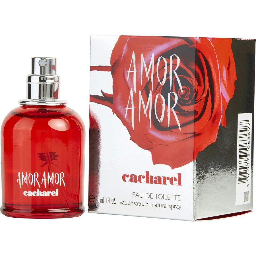 Amor Amor By Cacharel Edt Spray 1 Oz