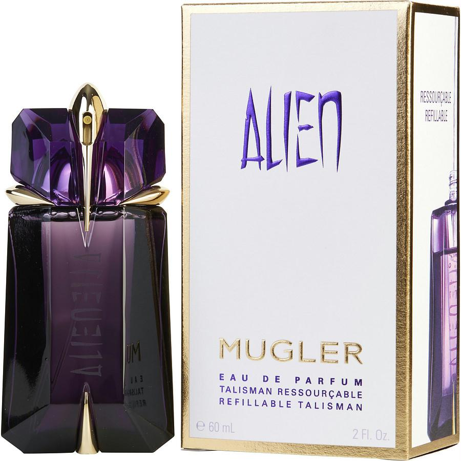 Alien By Thierry Mugler Eau De Parfum Spray Refillable 2 Oz