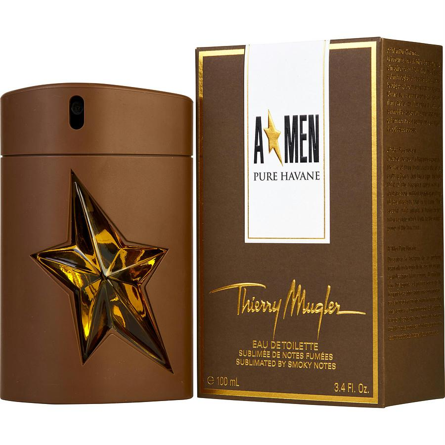 Angel Men Pure Havane By Thierry Mugler Edt Spray 3.4 Oz (limited Edition)