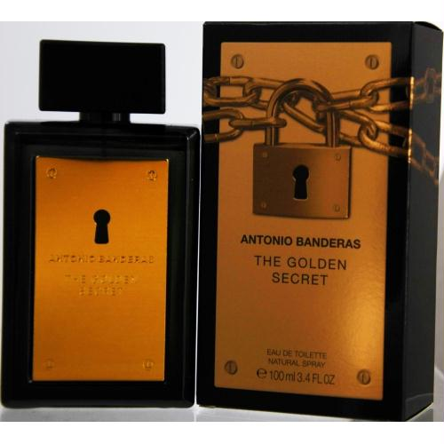 Antonio Banderas The Golden Secret By Antonio Banderas Edt Spray 3.4 Oz
