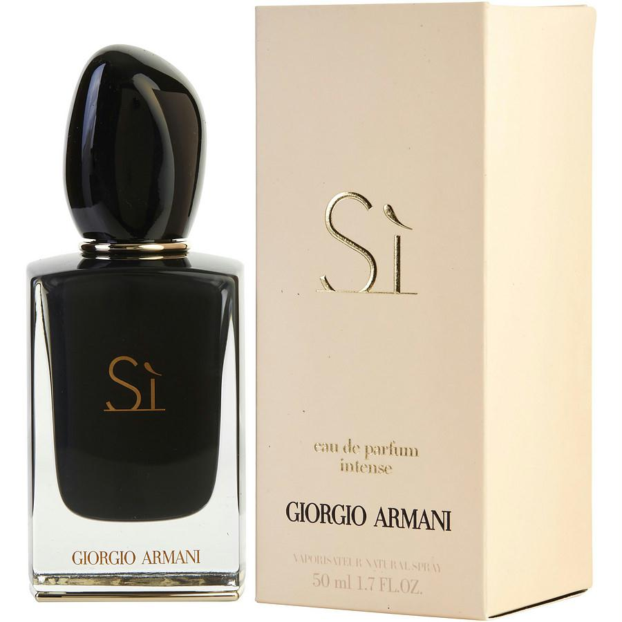 Armani Si Intense By Giorgio Armani Eau De Parfum Spray 1.7 Oz