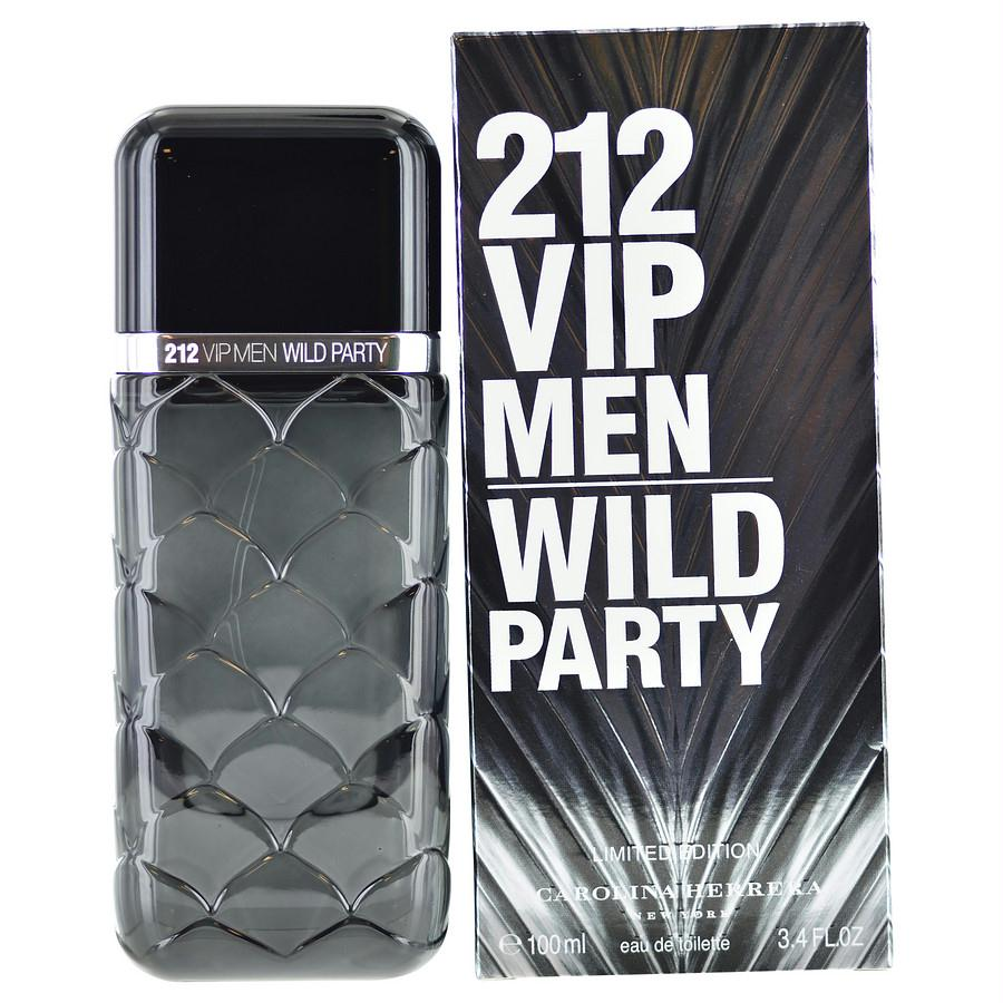 212 Vip Wild Party By Carolina Herrera Edt Spray 3.4 Oz (limited Edition)