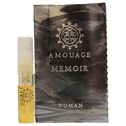 Amouage Memoir By Amouage Eau De Parfum Spray Vial On Card