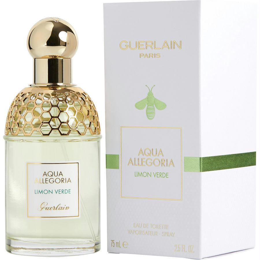 Aqua Allegoria Limon Verde By Guerlain Edt Spray 2.5 Oz
