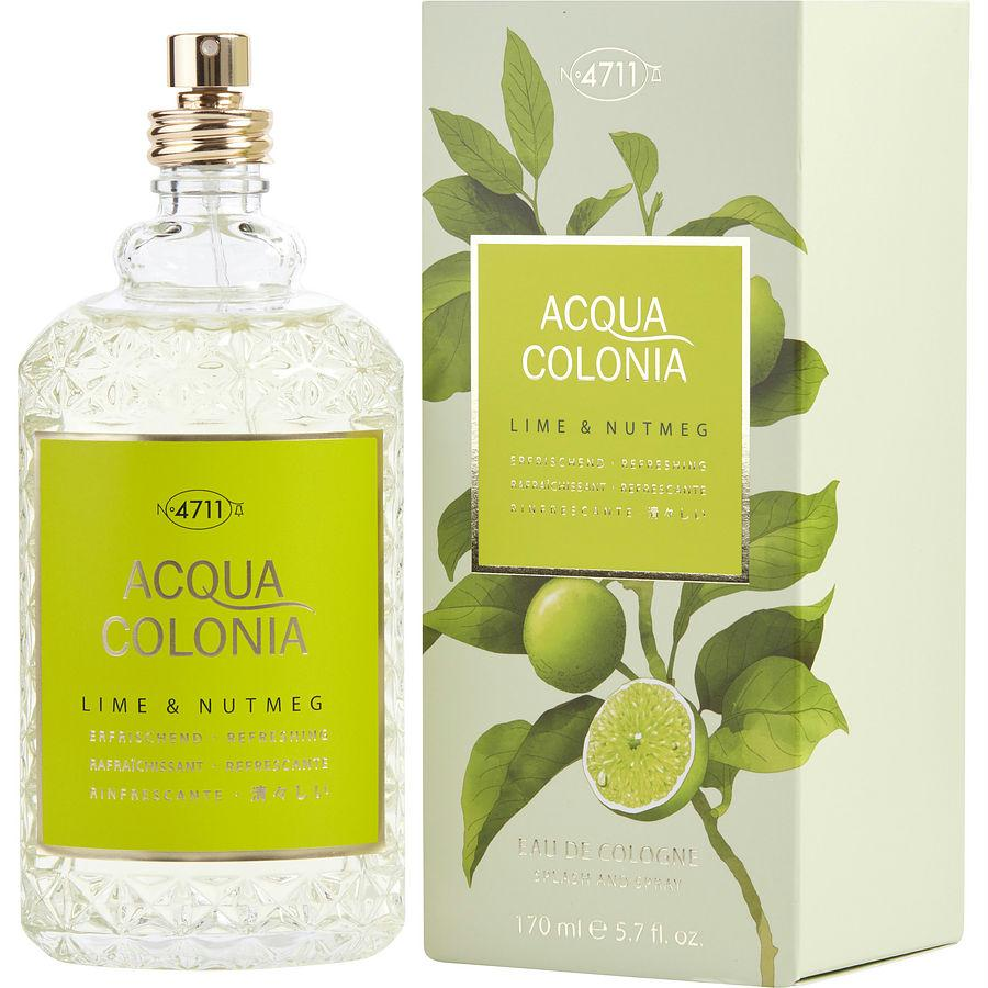 4711 Acqua Colonia By 4711 Lime & Nutmeg Eau De Cologne Spray 5.7 Oz