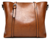 Image of LindsiAlexander.com Large Classy Tote Bag in Brown