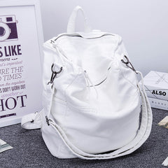 Soft Split Leather Backpack (2 colors)