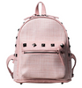 Image of LindsiAlexander.com Straw Mini Backpack in Pink