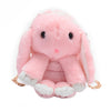 Image of Furry Bunny Rabbit Bag in Pink - Lindsi Alexander Bags