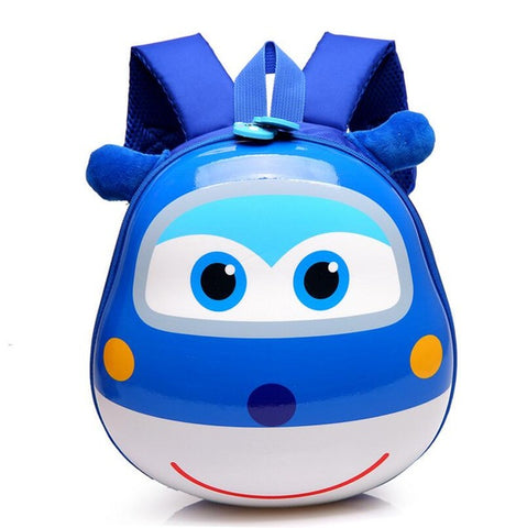 LindsiAlexander.com - 3D Cartoon Childrens Backpack - Blue