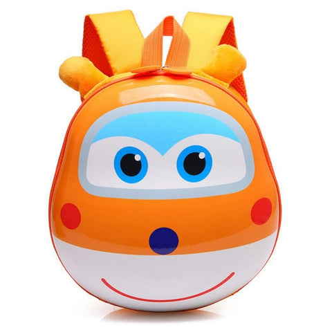 LindsiAlexander.com - 3D Cartoon Childrens Backpack - Orange