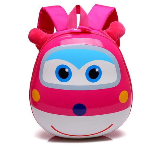 LindsiAlexander.com - 3D Cartoon Childrens Backpack - Pink