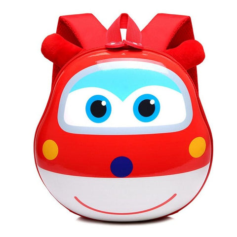 LindsiAlexander.com - 3D Cartoon Childrens Backpack - Red
