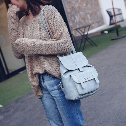 Soft Double Shoulder Bag (2 colors)