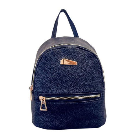 LindsiAlexander.com Simple Women's Backpack in Black