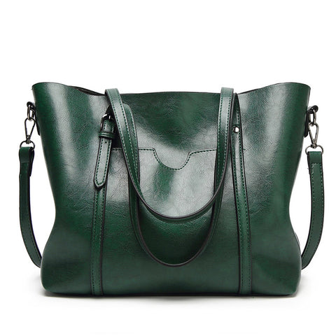 LindsiAlexander.com Large Classy Tote Bag in Green