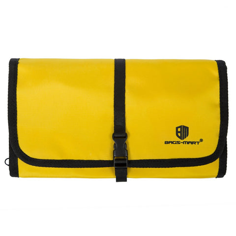 LindsiAlexander.com -  Bagsmart Travel Electronic Accessory Case in Yellow