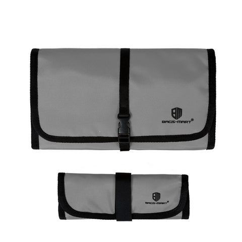 LindsiAlexander.com -  Bagsmart Travel Electronic Accessory Case in Gray