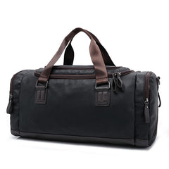 Men's Casual Split Leather Travel Duffel Bag (3 colors)