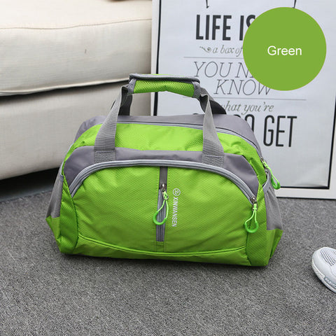 LindsiAlexander.com Fitness Gym Nylon Duffel Bag in Green