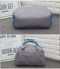 Image of LindsiAlexander.com Fitness Gym Nylon Duffel Bag in Blue