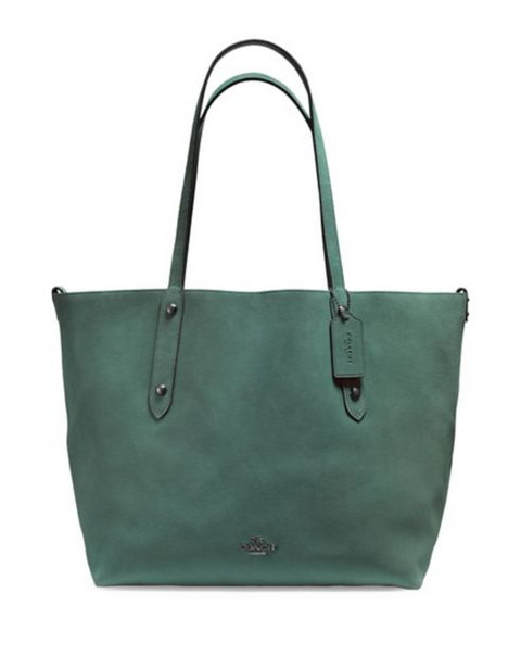 Coach Reversible Tote - Green